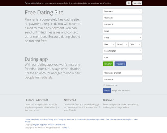 dating sites zonder e-mail